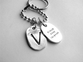 Daddy Tags Keychain - Click Image to Close